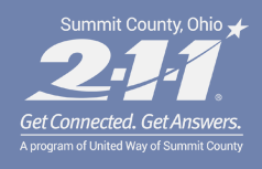 Summit County 2-1-1. Get Connected. Get Answers.